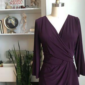 Chaps • Faux Wrap Dress